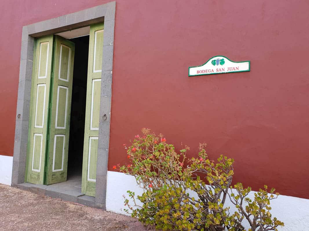 Bodega San Juan – Wine Museum and Winery Gran Canaria