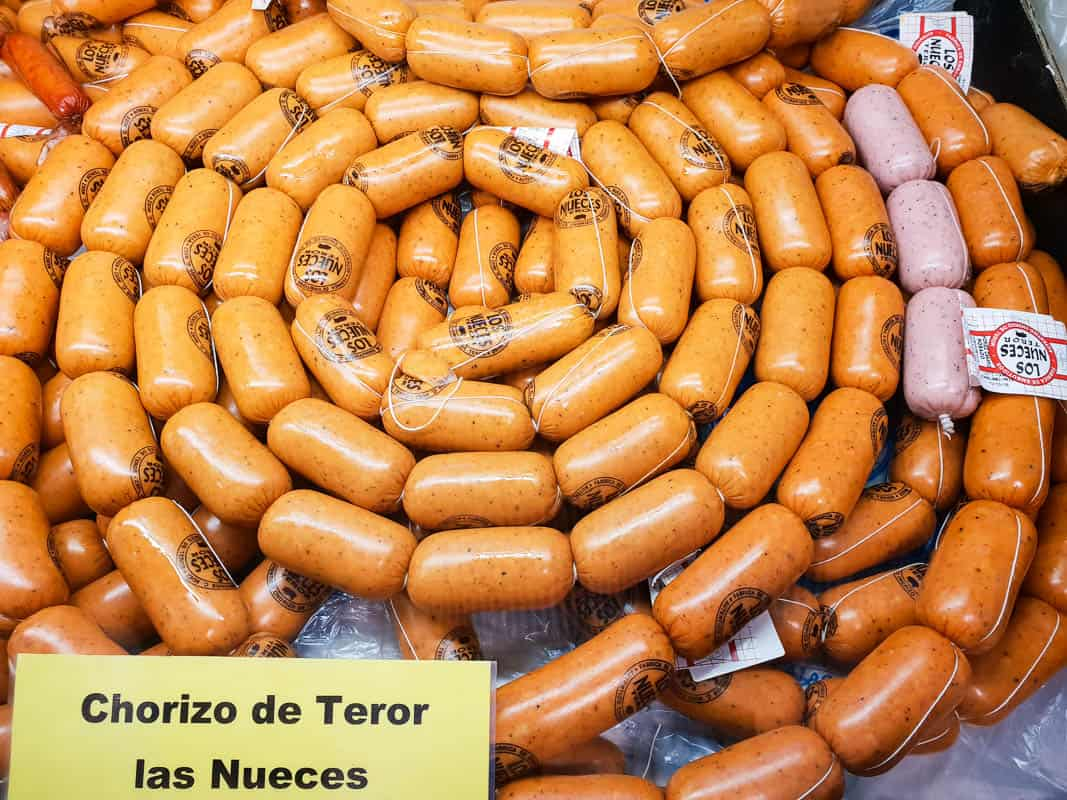 Chorizo de Teror Las  Nueces