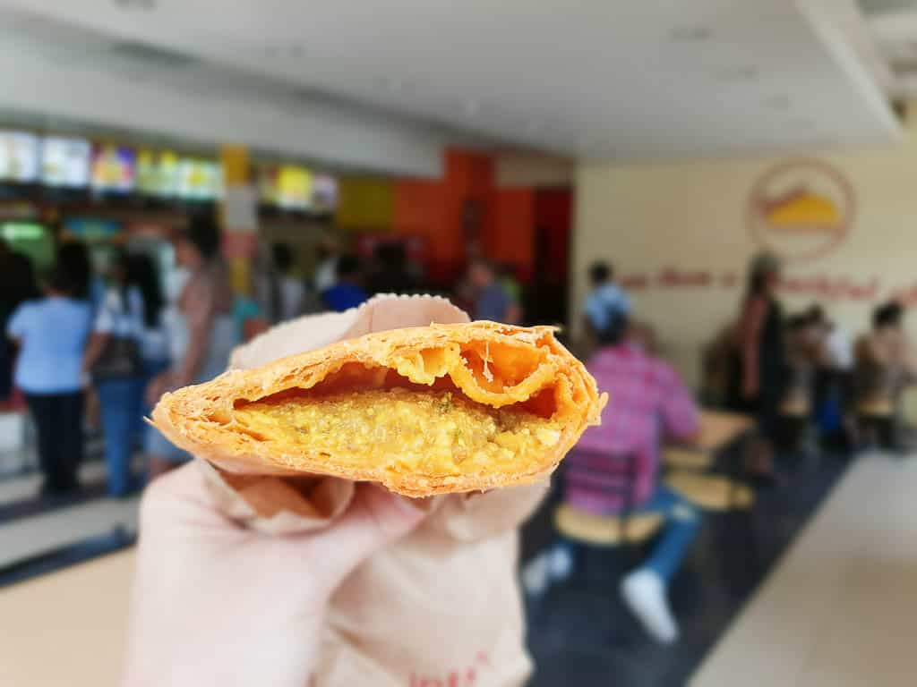Jamaican meat patty