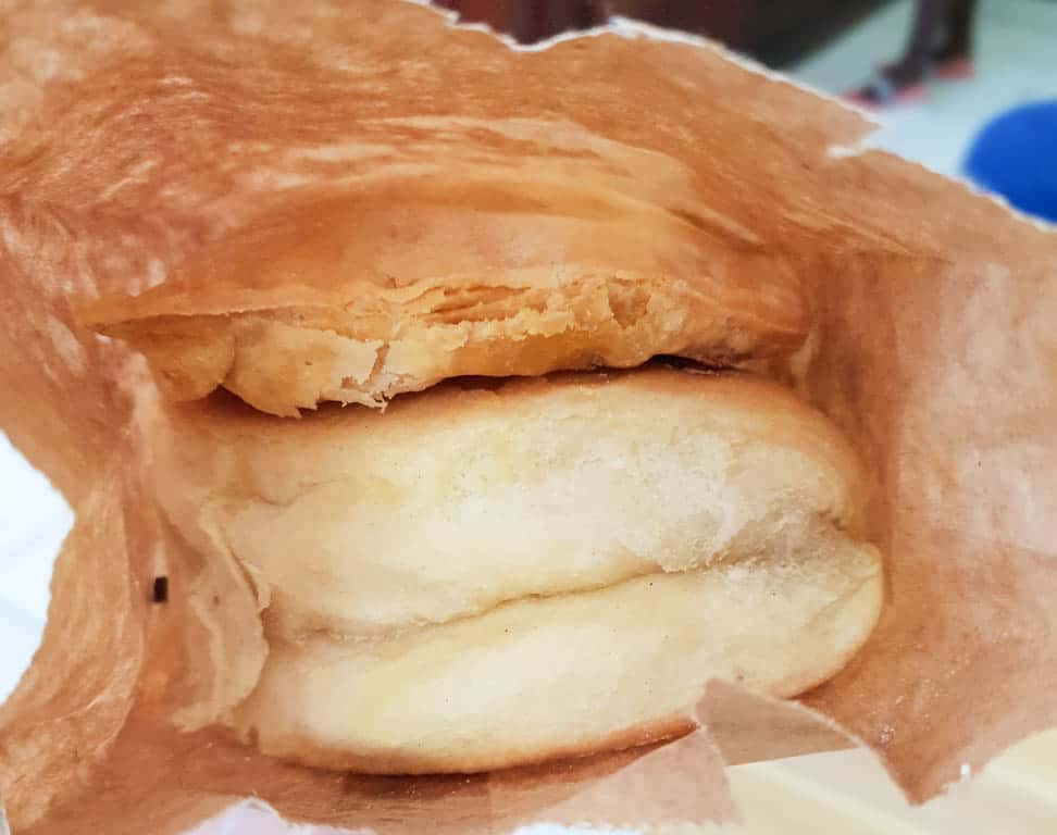 Jamaican Meat Patty In Coco Bread