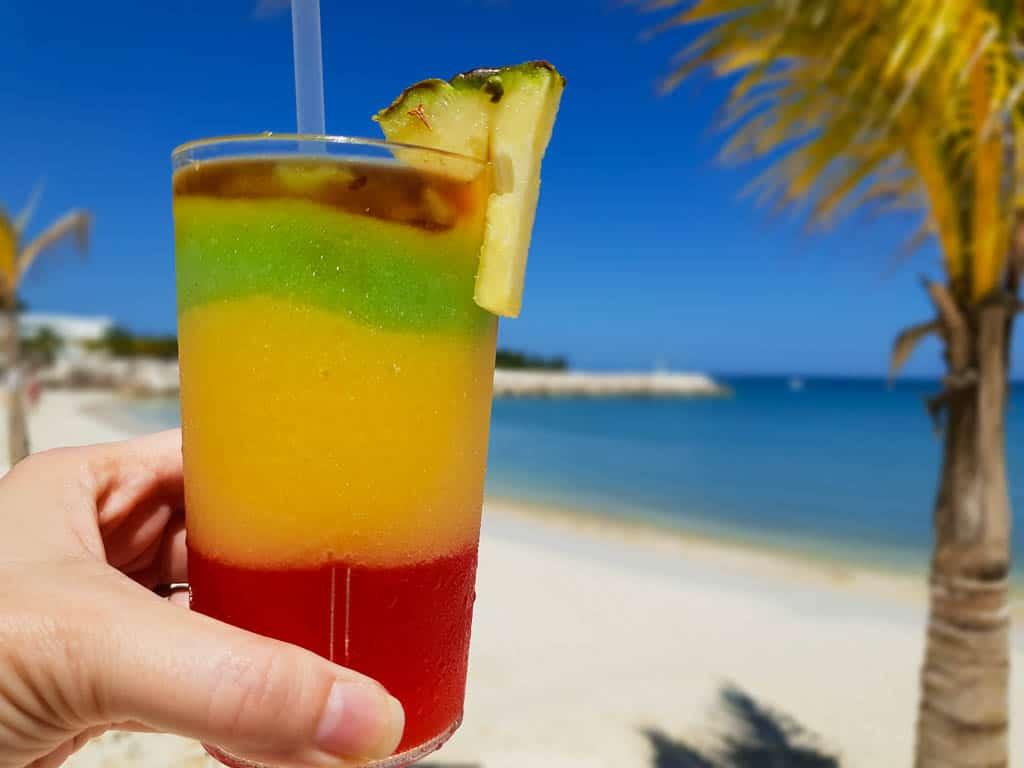 Classic rum drinks in Jamaica