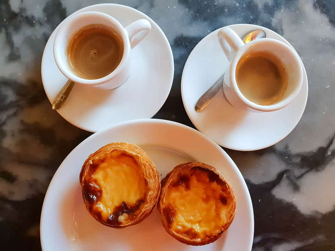 traditional Portuguese cafes