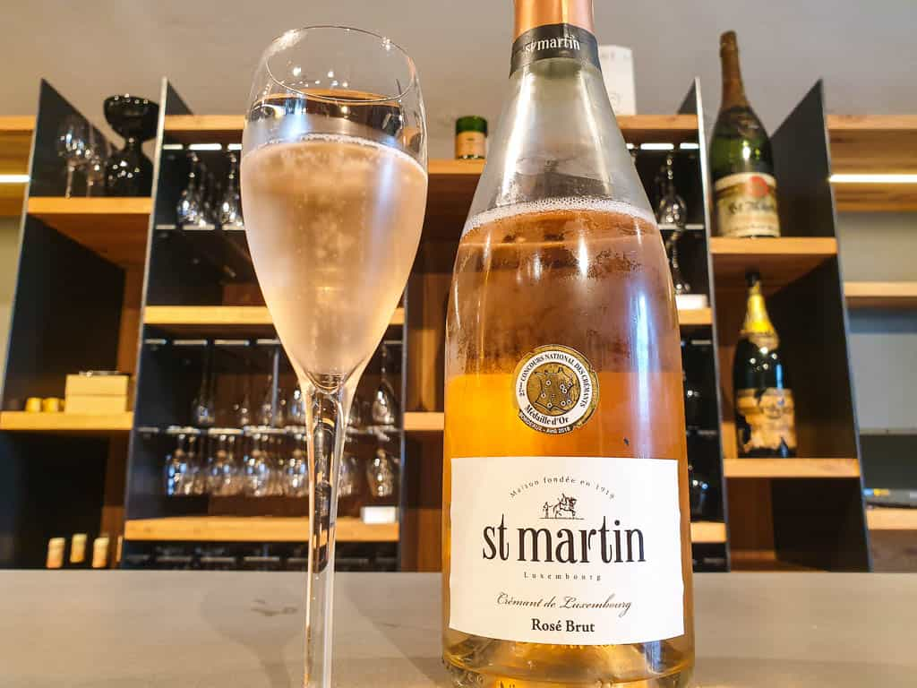 Luxembourg Cremant Sparkling Wine