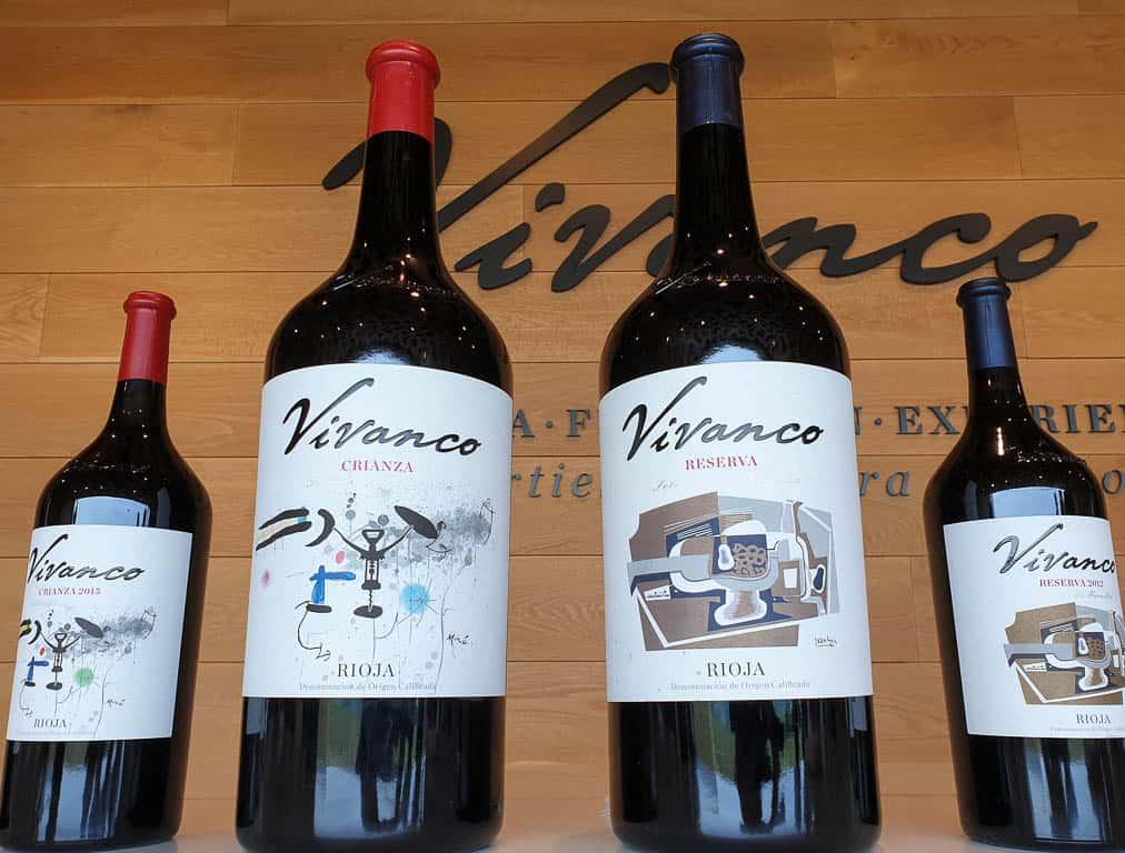 Rioja crianza and reserva