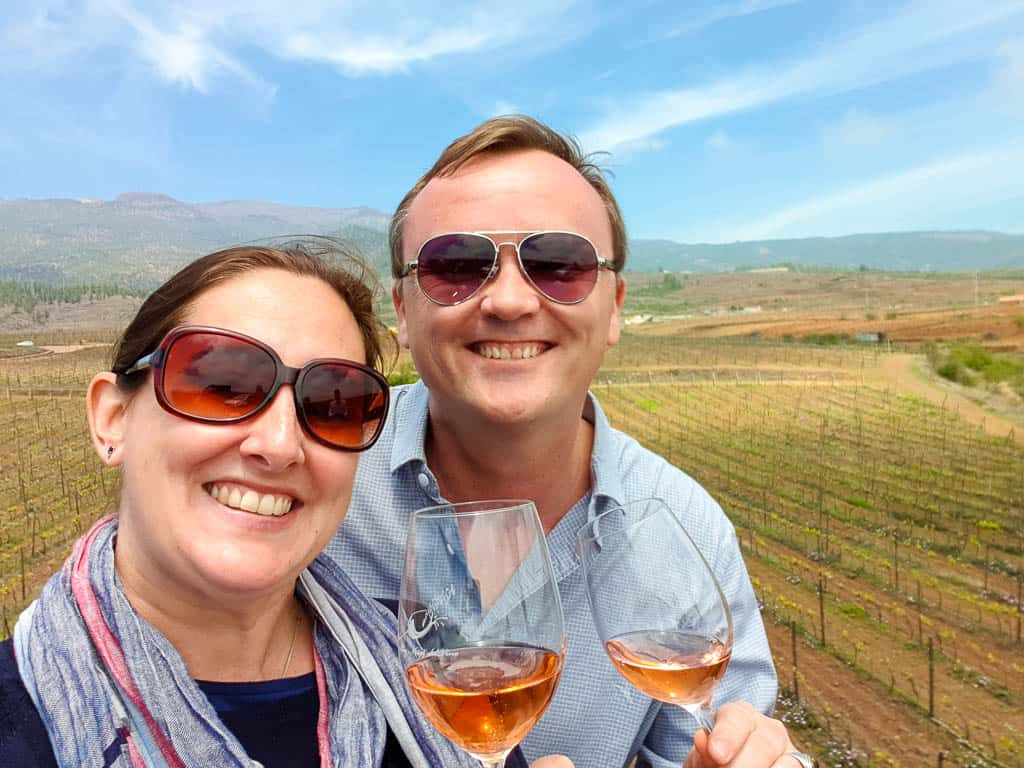 touring vineyards in Tenerife