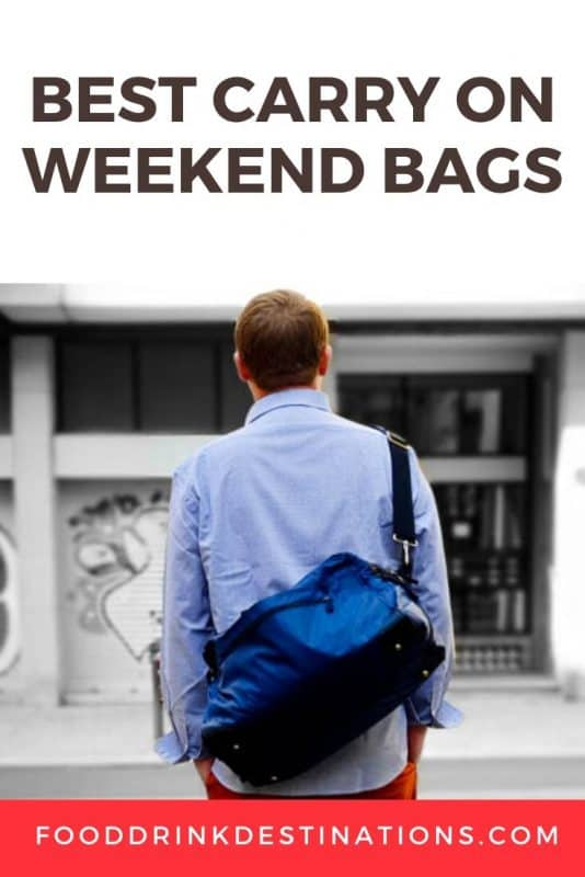 The Best Carry On Weekender Bag