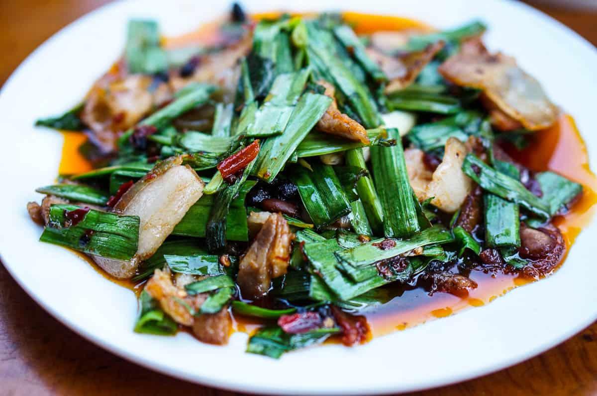 Double-Cooked Pork Belly – Huigou Rou