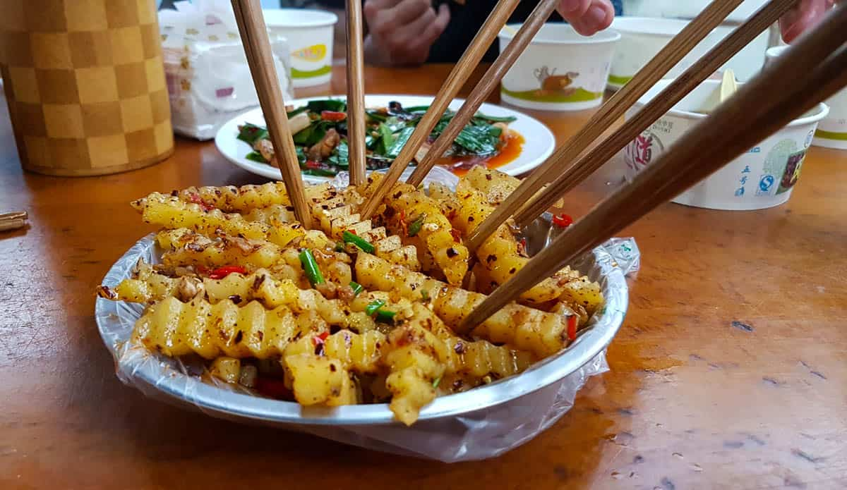 Sichuan French Fries
