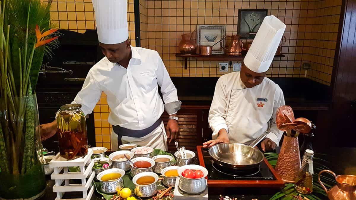 cooking class in Mauritius