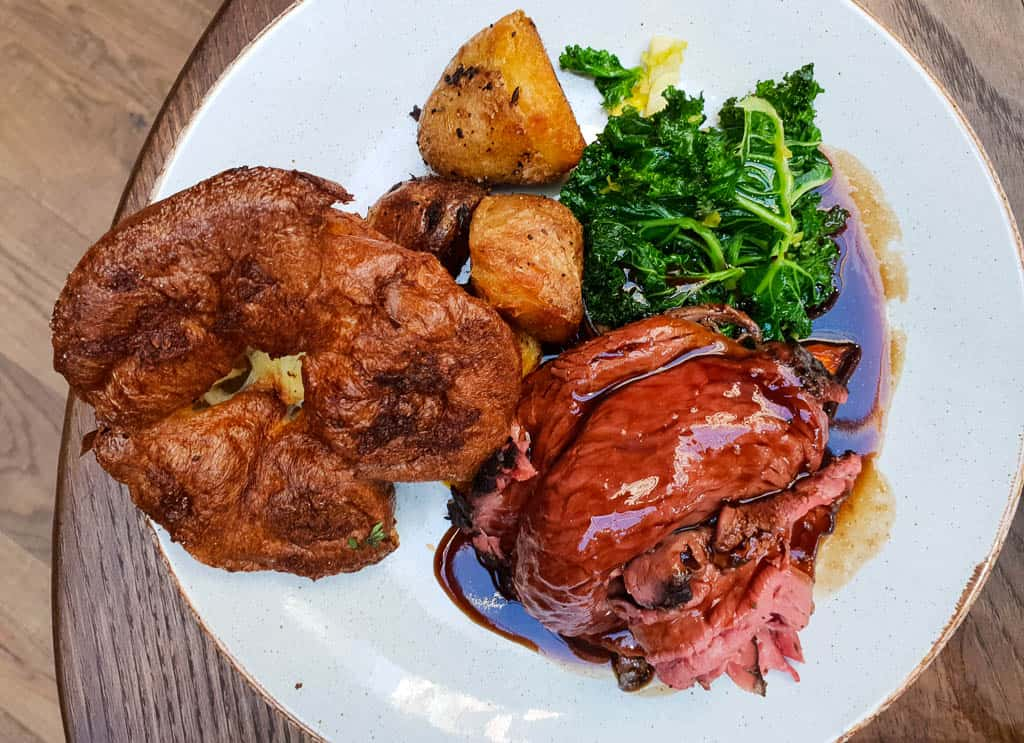 Sunday Roast and Yorkshire Pudding