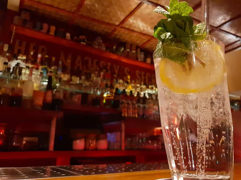 Her Majesty's Secret Service Gin Bar Bristol