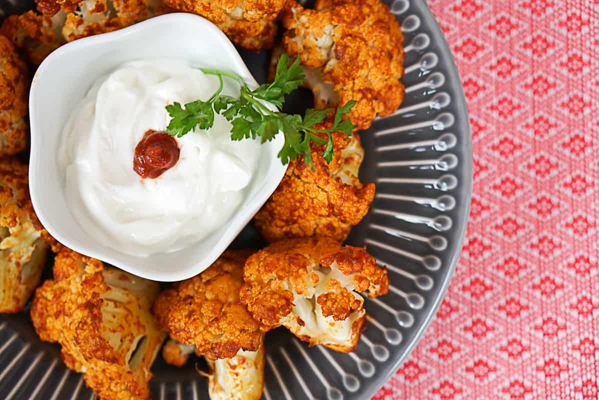 Spicy Roasted Harissa Cauliflower Recipe
