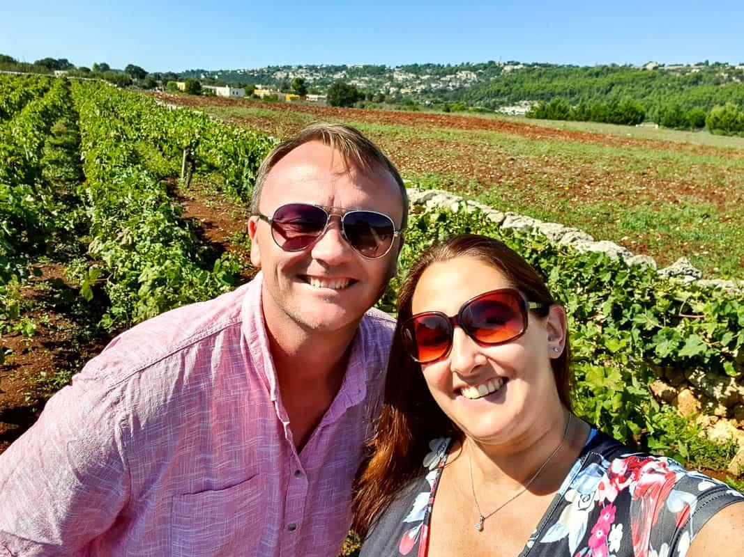 Puglia wine and food