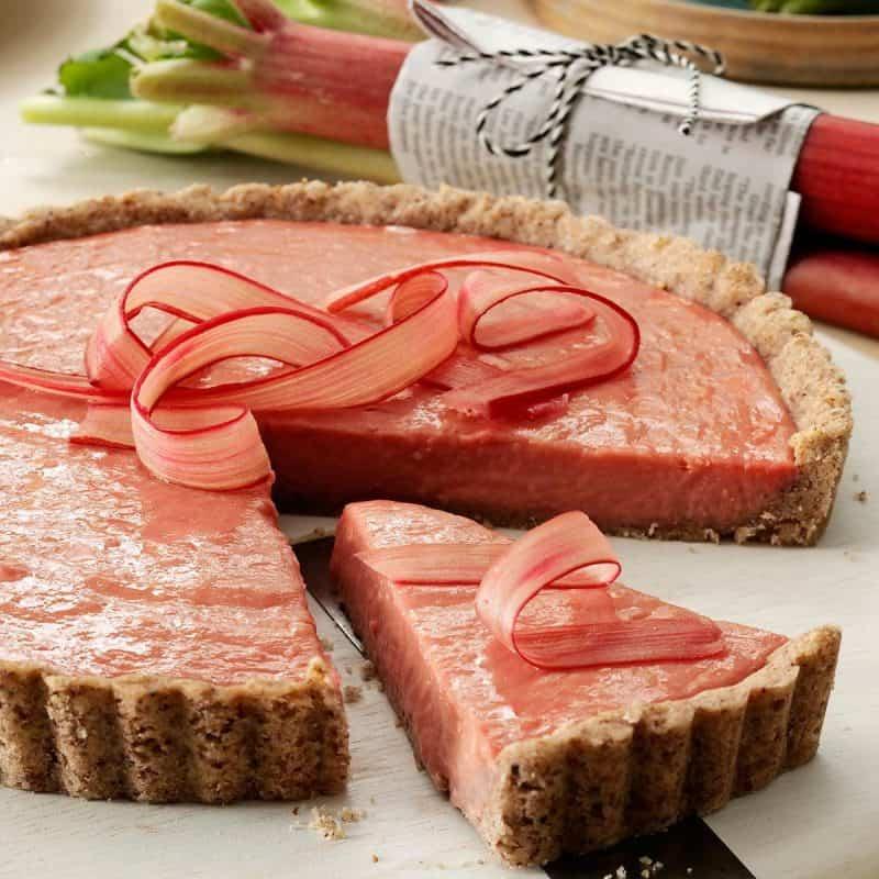 Irish Rhubarb Tart