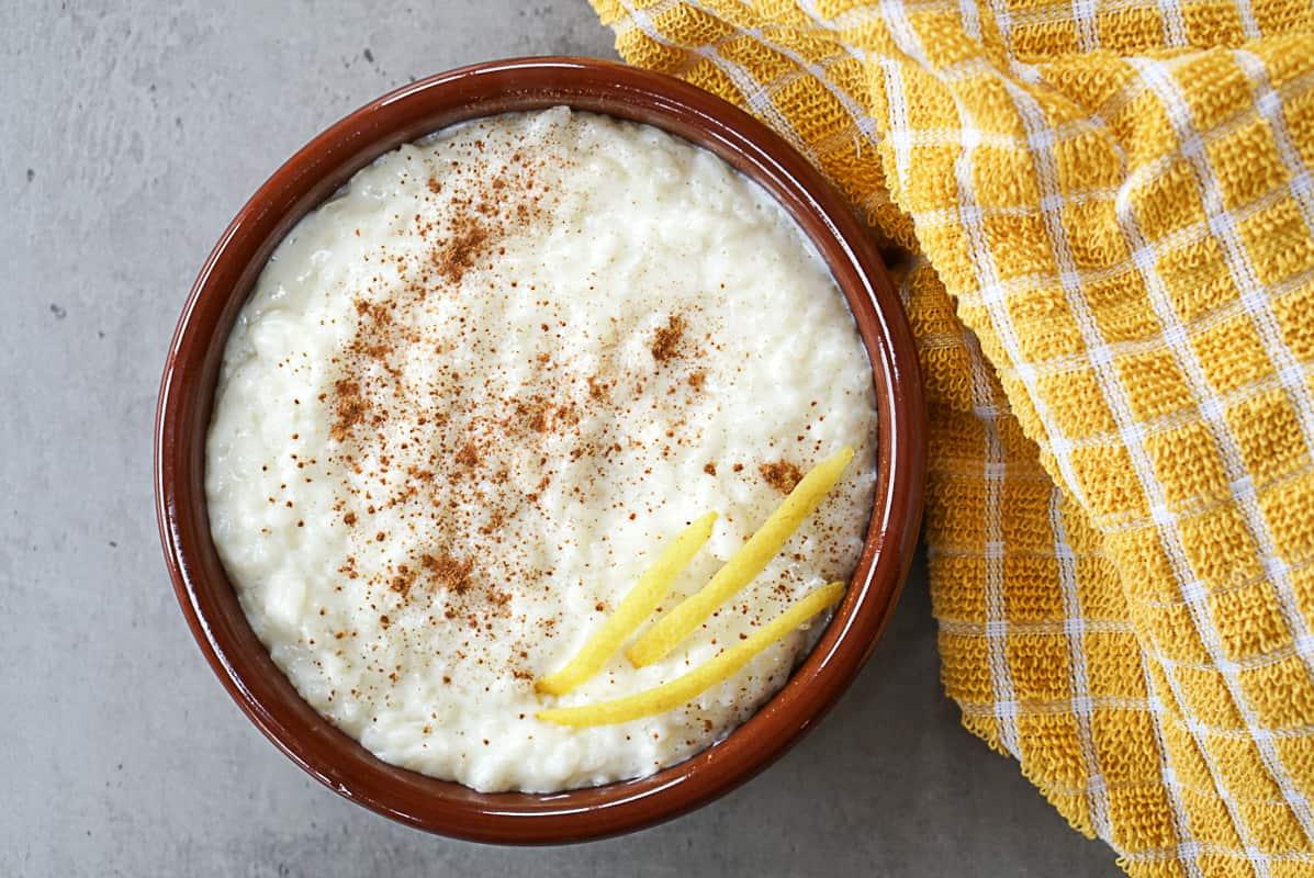 Arroz Con Leche Recipe - Spanish Rice Pudding