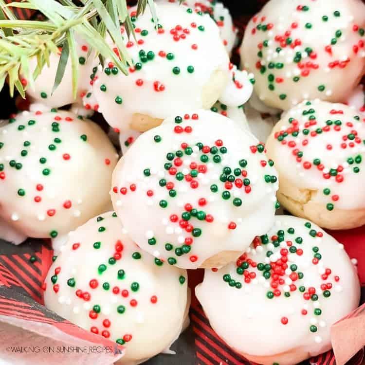 Traditional Italian Cookies