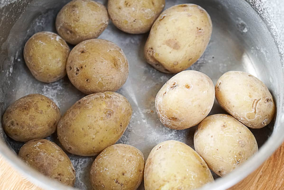 How to cook canarian potatoes