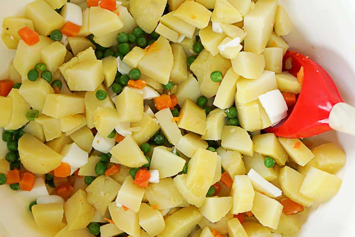 How to make a russian salad