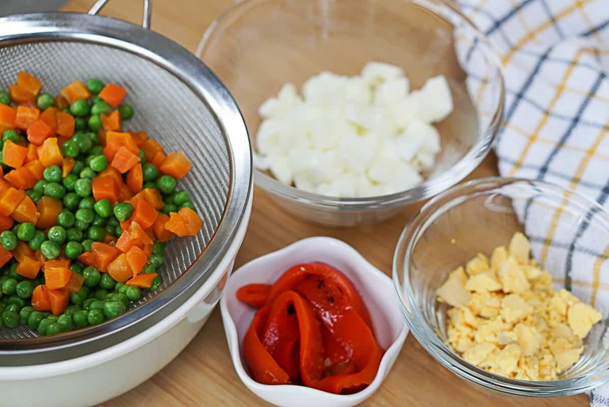 Salad russian recipe ingredients