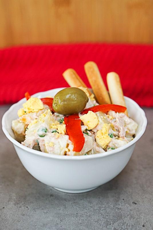 Ensaladilla Rusa Recipe - Spanish Potato Salad