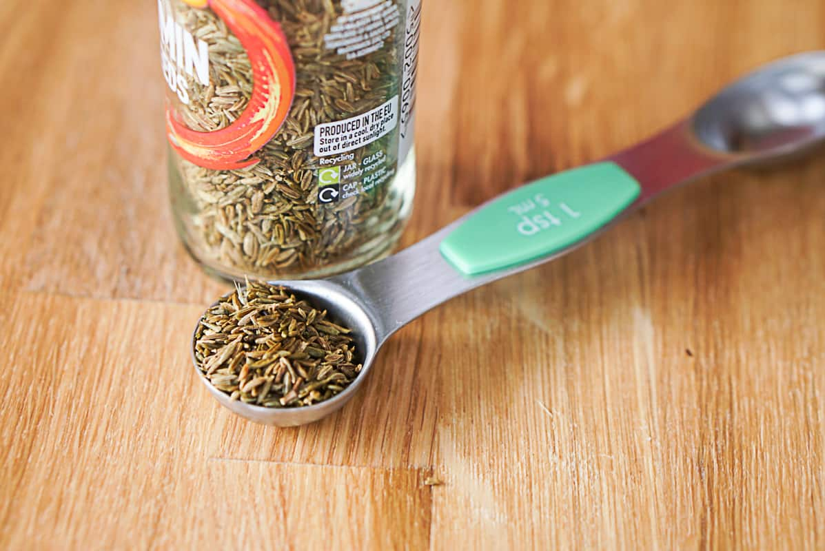 cooking with cumin seeds