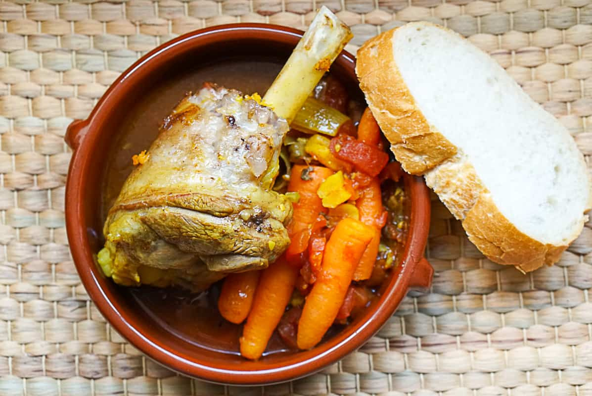 lamb tagine with carrots