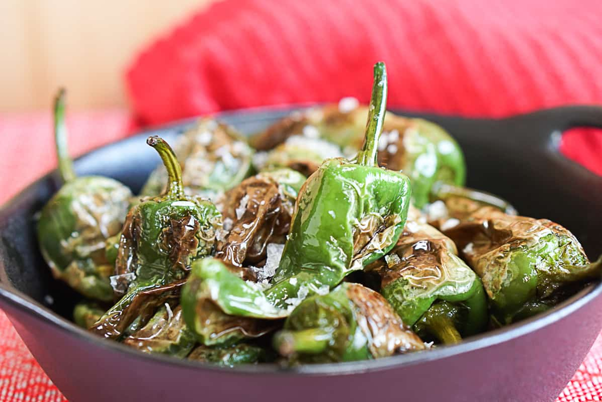 How to serve Padron Peppers