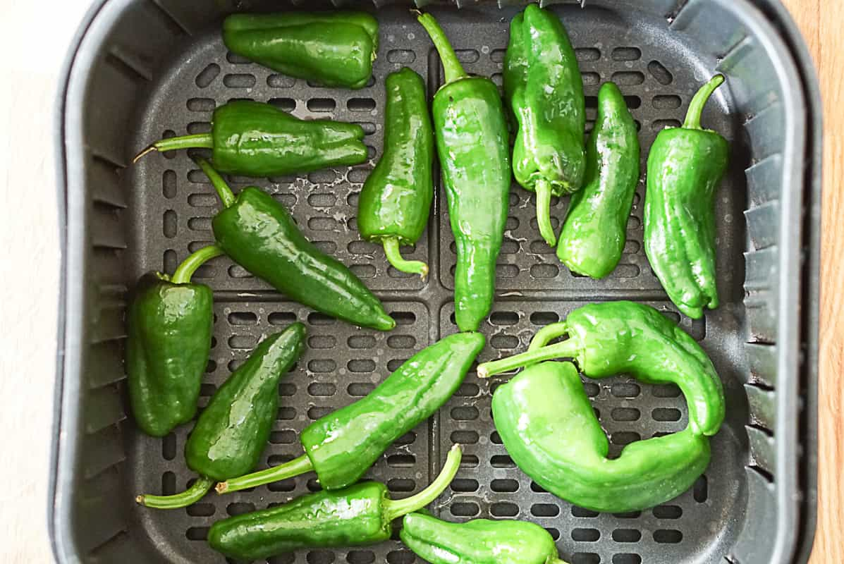 Padron pepper recipe - air fryer