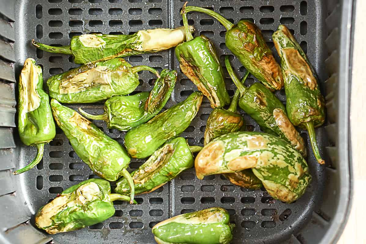 How to make Padron peppers in an air fryer