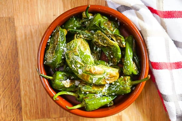 Padron Peppers Recipe - Spanish Pimientos De Padron