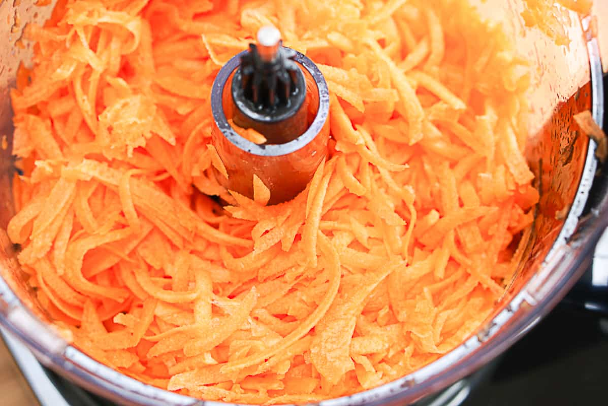shredded carrot salad