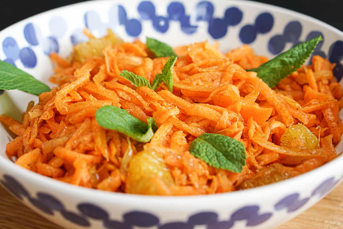 Moroccan orange carrot salad