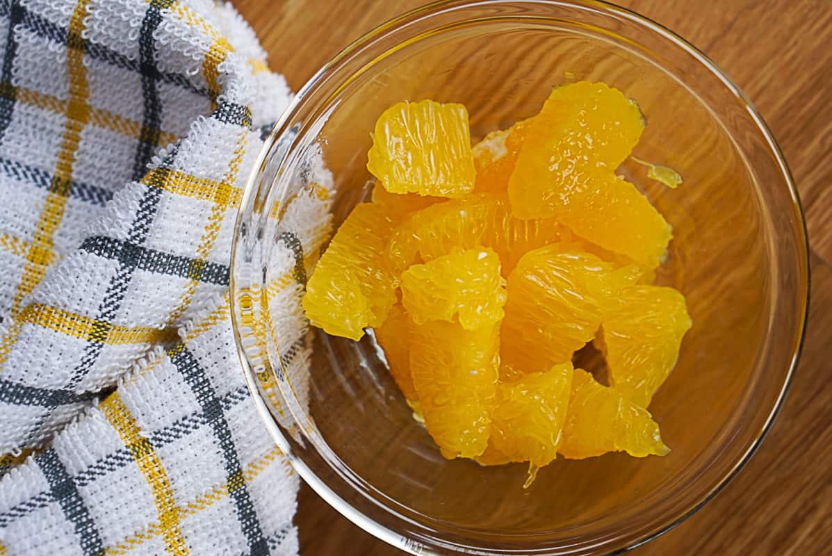 orange segments for a salad