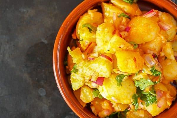 Moroccan Potato Salad