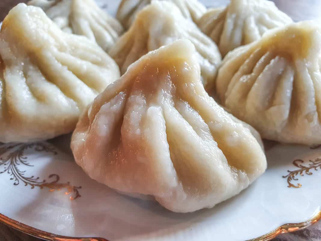 Khinkali - Georgian Meat Soup Dumplings