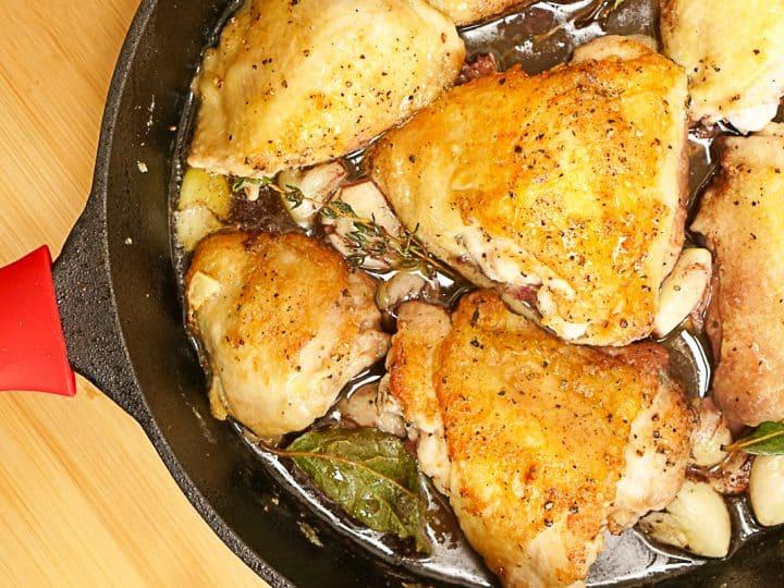 Pollo Ajillo Recipe - Spanish Garlic Chicken