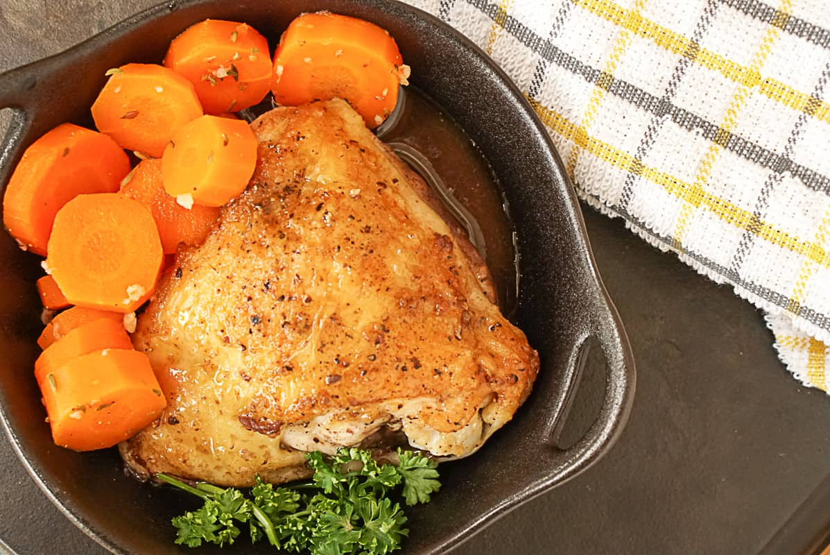 Spanish chicken with garlic sauce